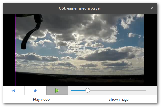 Merge and Destroy · Media player with GStreamer