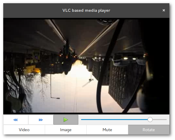 Merge and Destroy · Media player with VLC